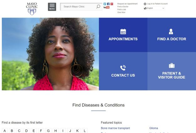 Online Mayo Clinic Resources