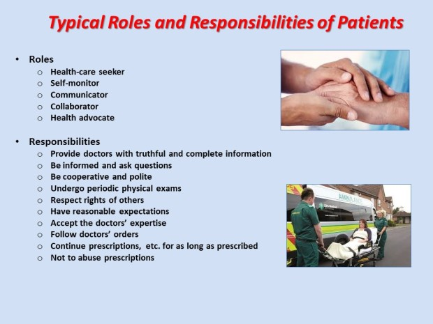 Patients' Roles and Responsibilities