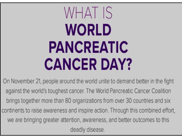 Pancreatic Cancer Day