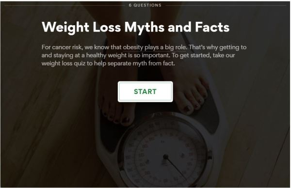 Easy-to-Use Health Quizzes for YOU